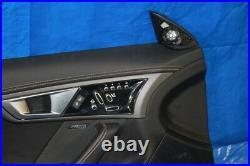 14-18 JAGUAR F-TYPE R AWD V8 OEM DRIVERS LEFT LH DOOR CARD PANEL With CONTROLS