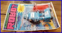 1971 ZEROIDS Original AHI AZRAK HAMWAY REMOTE CONTROLLED ROBOT On The CARD