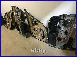Bmw Oem Oem E39 M5 Front Left And Right Side Door Panels Rear Panel Black Set 4