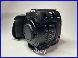 Canon EOS C200B Cinema Camera, Cfast Cards, SSD Kit, Camera Control Grip(102 Hr)