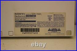 Ceramic White PS2 Slim Console, 1 CONTROLLER, CORDS, & MEMORY CARD (SCPH-79001)