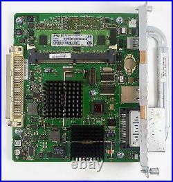 Cisco Wireless Lan Controller Module Card Nme-air-wlc25-k9 3945 + 512mb Memory