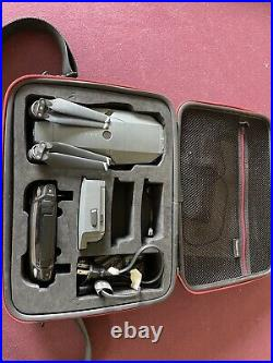 DJI Mavic Pro Drone With Controller 2 Batteries ND Filters SD Card Charger Case
