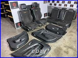 Dodge Charger R/t Daytona 392 15-20 Oem Daytona Suede Leather Panel Seats 50k