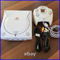 GDEMU Sega Dreamcast Console with 64gb SD Card, Controller & Cables