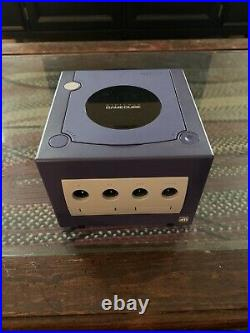GameCube System (Indigo) With Controller + Memory Card + Gameboy Player Accessory