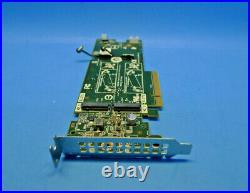 Genuine Dell Dual M. 2 Slot NVMe SSD PCIe Controller Adapter Card 2MFVD