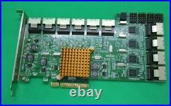 HighPoint Rocket 750 40 Channel SATA 6Gbps PCIe 2.0 8x HBA Controller Card R750