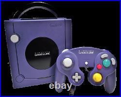 Indigo Nintendo Gamecube Console + Controller, Memory Card and Cables PAL