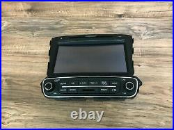 Kia Oem Sorento Front Navigation Radio Stereo Headunit Screen Monitor 14 15 25