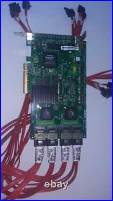 LSI 9650SE-16ML 3 ware SATA PCIe 16-Port SATA RAID Controller Card