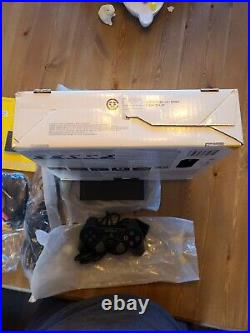 MINT Sony PS2 slim scph-77001 With box, memory card & controller only USED TWICE