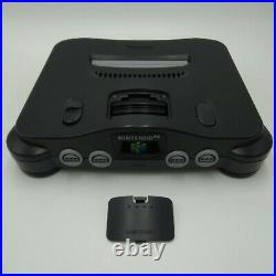 N64 Nintendo Console Bundle 5 Games 2 Control 3 Memory Card Cables Tested Works