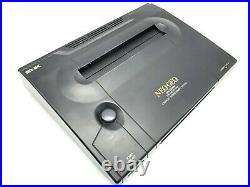 Neo Geo AES Console SNK Joystic Controller & Memory Card & Power adapter Tested