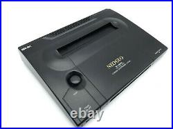 Neo Geo AES Console SNK Joystic Controller & Memory Card & ROM Cartridge Tested