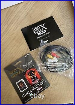 Neo Geo X Gold Limited Edition, Extra Controller, Neo Geo X Pro Card