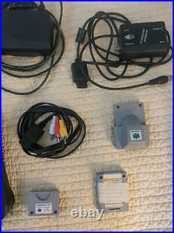Nintendo 64 Console+ 3 Controllers+ 2 Memory Cards+ Rumble Pack+ Cables
