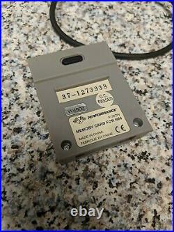 Nintendo 64 Fire Orange OEM Controller Tight Stick 8/10 (includes memory card)