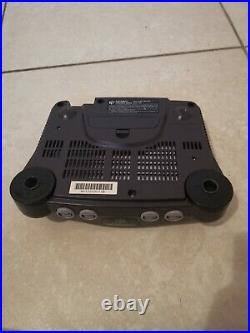 Nintendo 64 N64 Original System Console, Original Controllers Memory Card Cords
