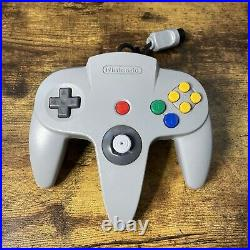 Nintendo 64 Video Game Console Bundle With 2 Controllers, Memory Card, and 6 Games