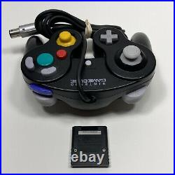 Nintendo GameCube Black with Games & Accessories (Memory Card, Controller)