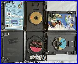 Nintendo GameCube Controller Bundle & 5 Games Plus Memory Card All Tested