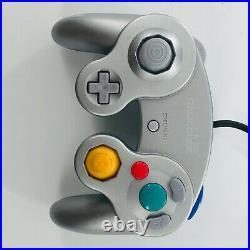 Nintendo GameCube Metroid Prime Bundle- Controllers + Game + Memory Card =Tested