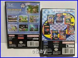 Nintendo GameCube Platinum Silver Console Bundle with Controller Games Mem. Card