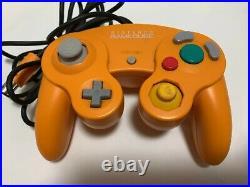 Nintendo GameCube Spice Orange Console DOL001 Boxed Memory card 59 Controller
