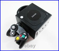 Nintendo GameCube System Console Black With 4 Controllers Memory Card