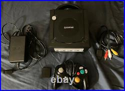 Nintendo GameCube with Authentic GC Loader PNP, Controller, Cords & Memory Card