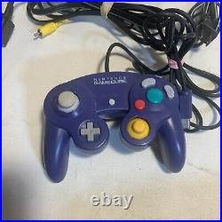 Nintendo Gamecube Console Bundle With 9 Games, Memory Card And Controller. TESTED