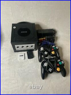 Nintendo Gamecube Console Bundle with 8 Games, Memory Cards 2 Controllers TESTED