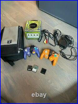 Nintendo Gamecube Console with Zelda skin. Incl. Cables, memory cards, controllers