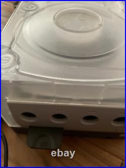 Nintendo Gamecube Custom With GC Loader, Loaded SD Card Prism HDMI 2 Controllers