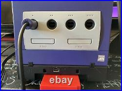 Nintendo Gamecube & Gameboy Player w Disk, OEM Controller +2, Memory Card, Cords