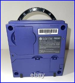Nintendo Gamecube Indigo Console Bundle With 1 Controller, Memory Card & 5 Games