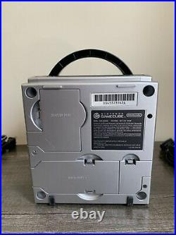 Nintendo Gamecube System Bundle With Original Controller, Memory Card & Cords