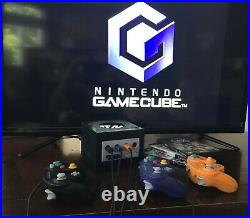 Nintendo Gamecube console bundle includes 3 controllers 2 memory cards 3 games