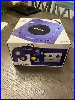 Nintendo Gamecube with Box, 3 Controllers, & 2 Memory Cards Tested/Authentic