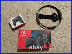 Nintendo Switch + 128G card+ Pro Controller+ Ring Fit
