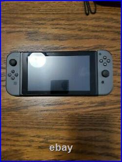 Nintendo Switch 32GB Console with Gray JoyCon, 256gb SD card, Case, & Controller