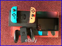 Nintendo Switch Console with 64 GB Micro-SD Card, & Controller (HAC-001)