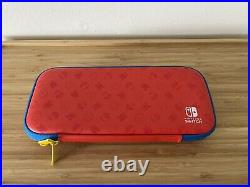 Nintendo Switch Mario Red & Blue Edition + Pro Controller/128GB Card