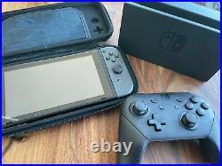 Nintendo Switch + extras 256GB microSD Card, Case, Official Controller, Dock
