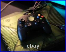 Original Microsoft Xbox Halo Special Edition With Controllers Memory Card(6 Games)