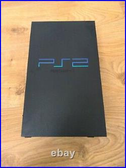 PS2 Console & 32 Game Bundle Phat 2 Controllers Memory Cards DVD Remote Free P&P
