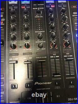Pioneer DDJ-SX DJ mixer + controller + sound card AC100V Black AC Adapter Japan