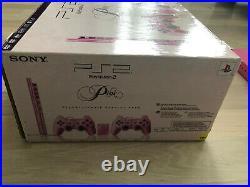 PlayStation 2 / PS2 Slim pink + 2 Controller + Kabel + Memory Card in OVP