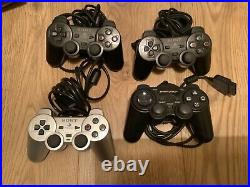 PlayStation 2 bundle 53 games, 5 controllers, 7 memory cards, multitap, remote